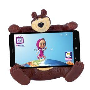 2466---Masha-e-o-Urso---Urso---Suporte-para-celular2
